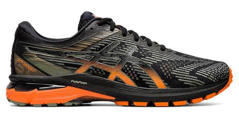 Asics Gt 2000 8 Trail кроссовки для бега мужские черные-оранжевые (Распродажа)
