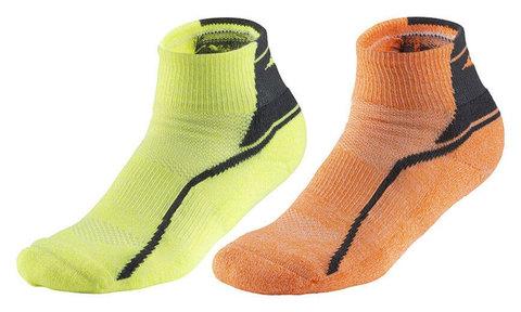 Mizuno Active Training Mid 2p комплект носков желтый-оранжевый