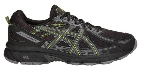 Asics Gel Venture 6 мужские кроссовки-внедорожники для бега черные