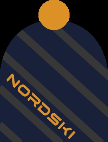 Nordski Line лыжная шапка dark blue