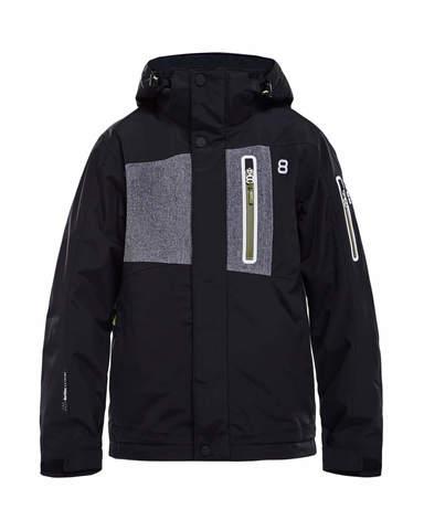 Горнолыжная куртка детская 8848 Altitude New Land черная