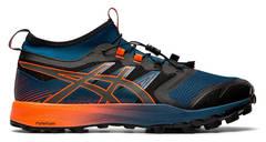Asics Gel Fujitrabuco 7 Pro кроссовки внедорожники мужские синие-оранжевые