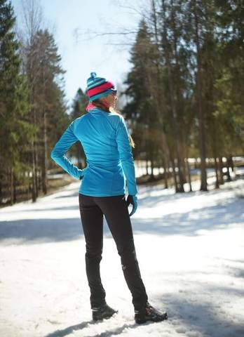 Nordski Elite женский лыжный костюм blue