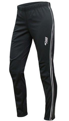 Ray WS Run лыжные разминочные  брюки женские black
