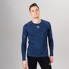 Nordski Pro футболка тренировочная мужская с длинным рукавом blue - 1