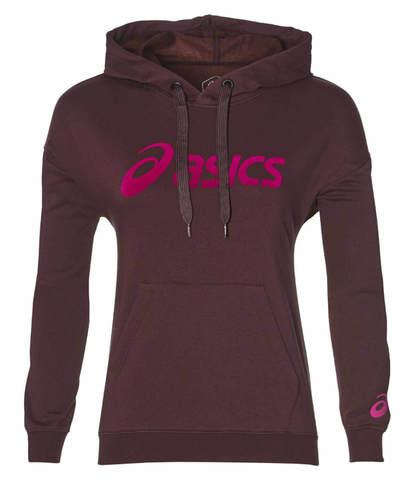 Asics Big Logo спортивный костюм женский бордовый