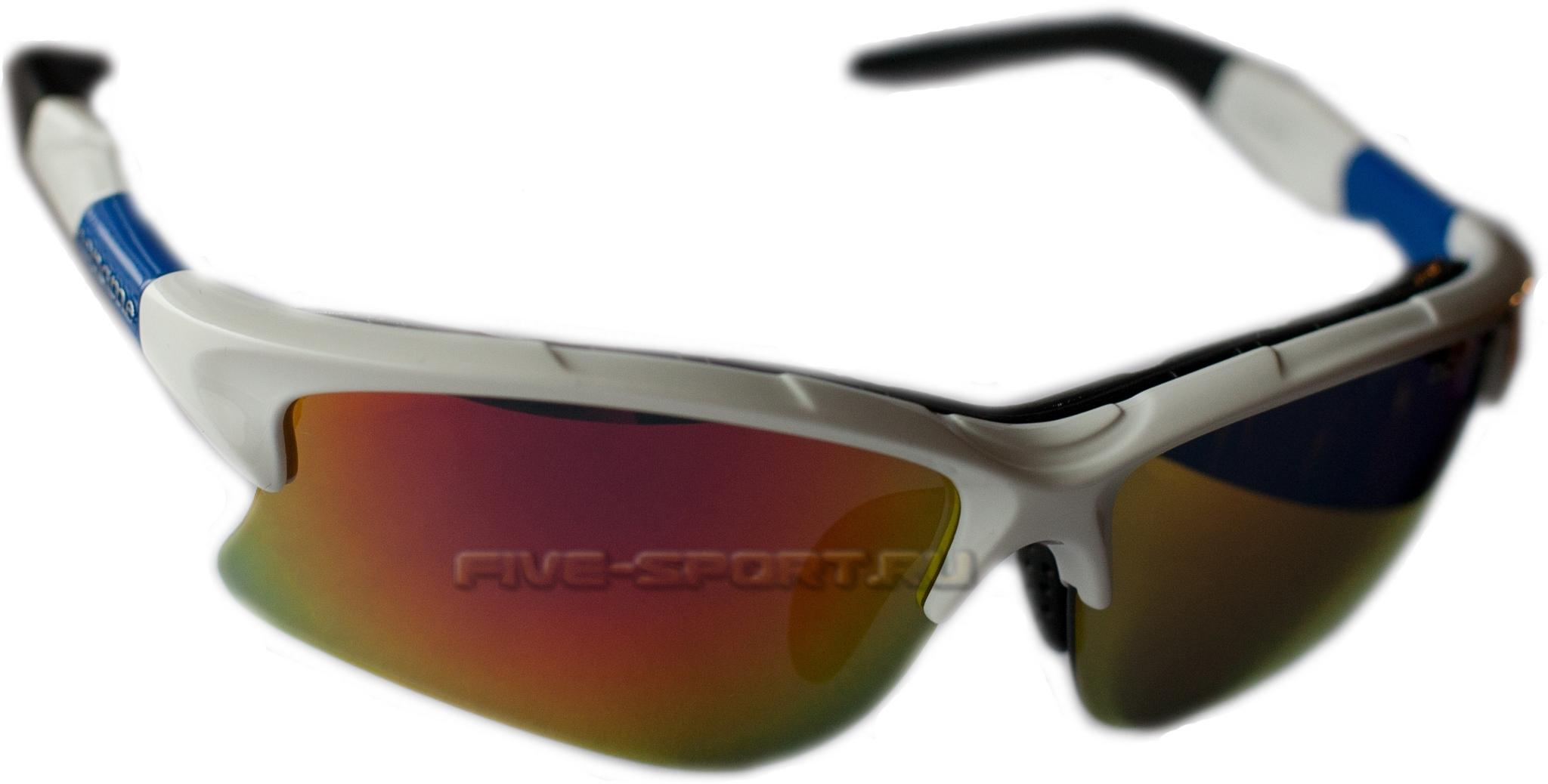 Noname Wolfracing спортивные очки white-blue - 2