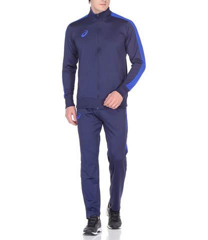 Asics Poly Suit мужской спортивный костюм синий