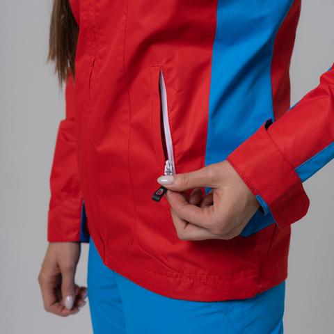 Nordski National женская ветрозащитная куртка красная