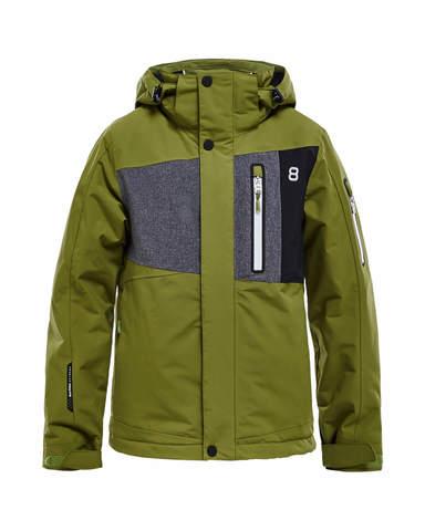 Горнолыжная куртка детская 8848 Altitude New Land 2018 guacamole