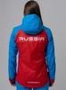 Nordski National женская ветрозащитная куртка красная - 3