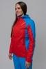 Nordski National женская ветрозащитная куртка красная - 2