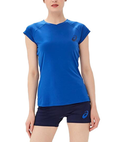 Asics Volley Set волейбольная форма женская синяя