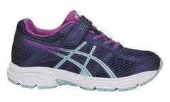 Asics Gel Contend 4 PS кроссовки для бега детские синие-фиолетовые