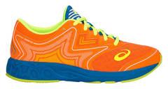 Asics Gel Noosa Tri 12 GS кроссовки для бега детские оранжевые-синие