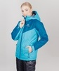 Nordski Premium Sport утепленная лыжная куртка женская aquamarine - 2