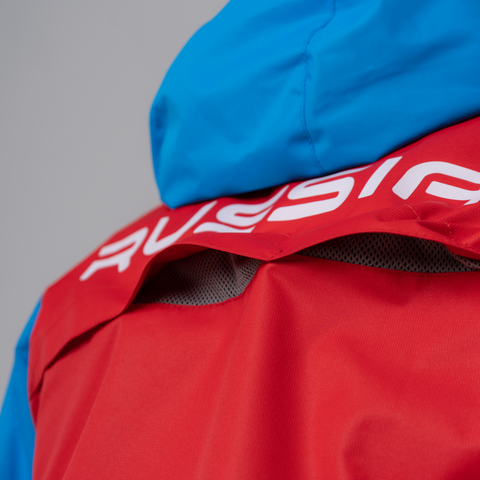Nordski National мужская ветрозащитная куртка red