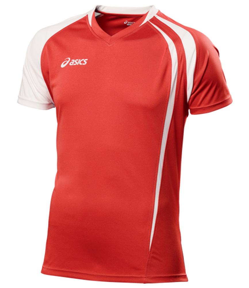 Asics T-shirt Fan Man футболка волейбольная red - 3