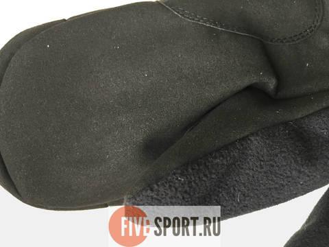 Nordski Jr Arctic WS теплые варежки black