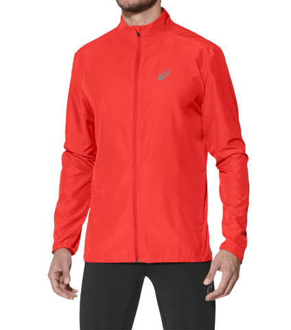 ASICS RUNNING JACKET мужская куртка для бега красная