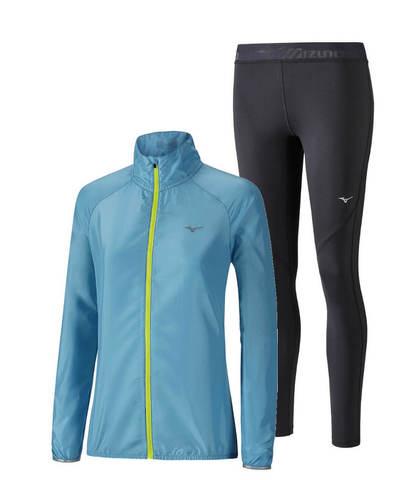 Mizuno Impulse костюм для бега женский blue-black