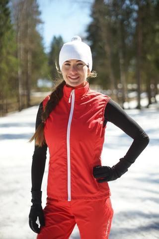 Nordski Россия теплый лыжный жилет женский