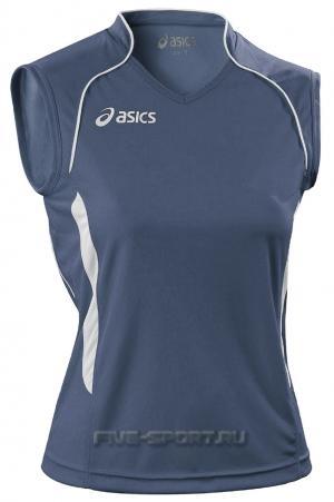 Asics Singlet Aruba Майка волейбольная женская dark blue