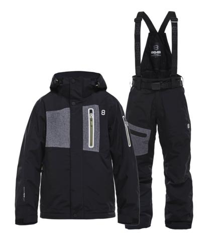 Горнолыжный костюм детский 8848 Altitude New Land Defender черный