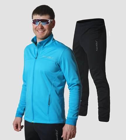 Nordski Motion разминочный лыжный костюм мужской Breeze