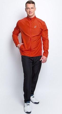 ASICS RUNNING WOVEN мужской костюм для бега ярко-оранж