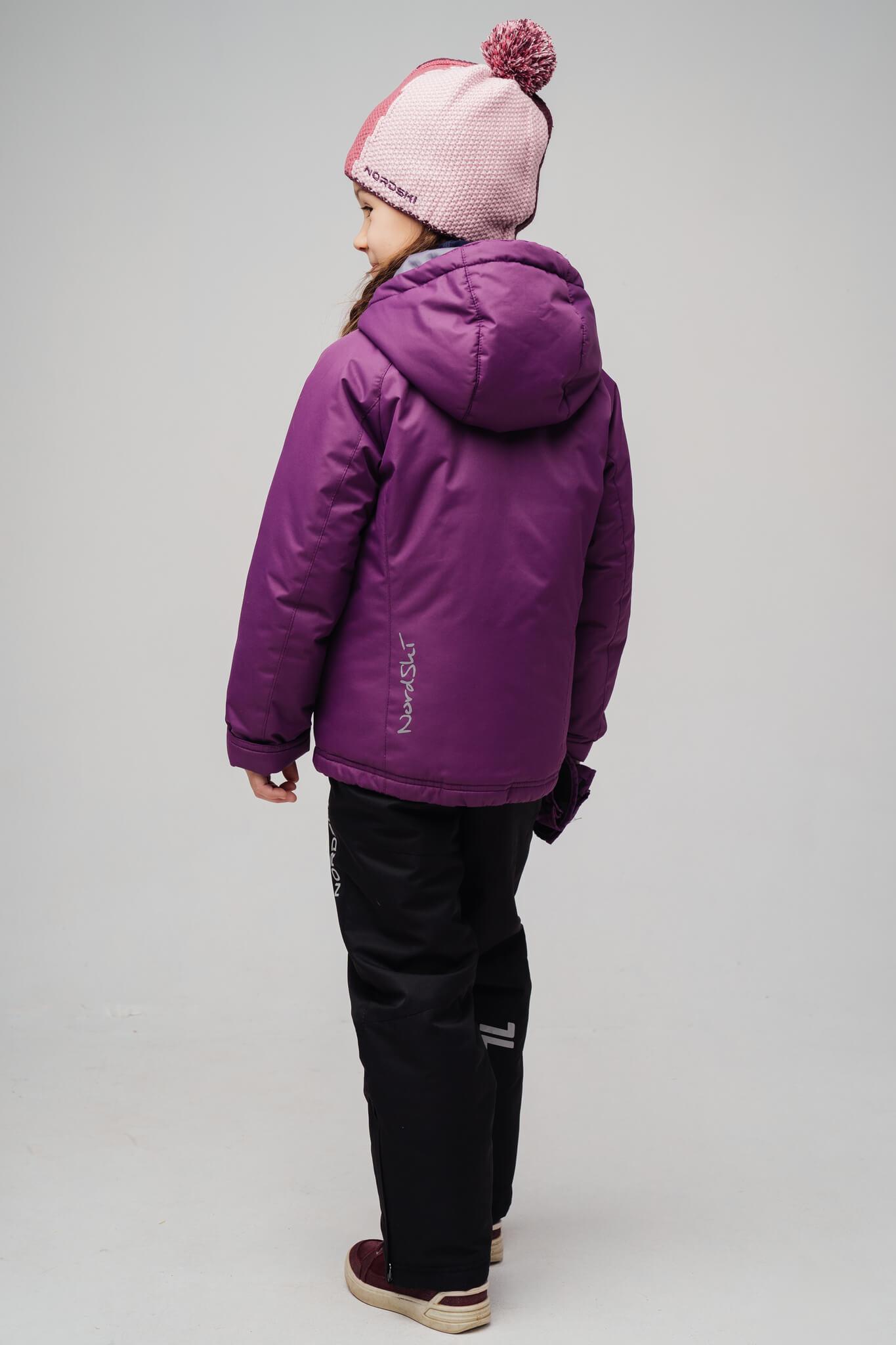 Nordski Kids Motion прогулочная лыжная куртка детская purple - 2