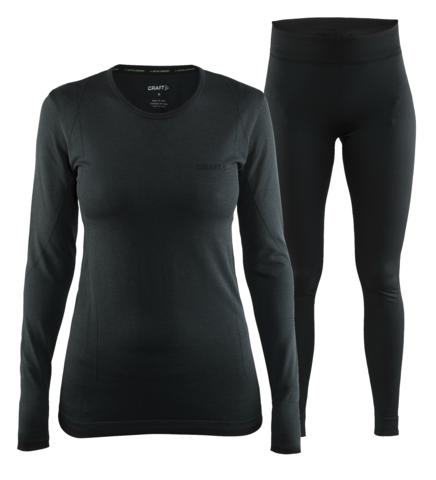 Craft Active Comfort комплект термобелья женский черный