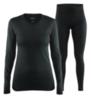 Craft Active Comfort комплект термобелья женский черный - 1