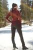 Nordski Elite разминочный лыжный костюм женский wine - 2