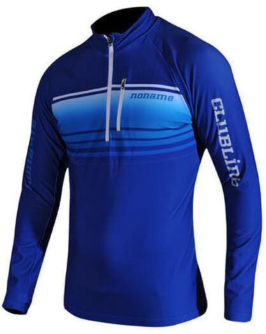 Noname Breeze Shirt рубашка беговая мужская blue