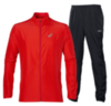 ASICS RUNNING WOVEN мужской костюм для бега ярко-оранж - 4