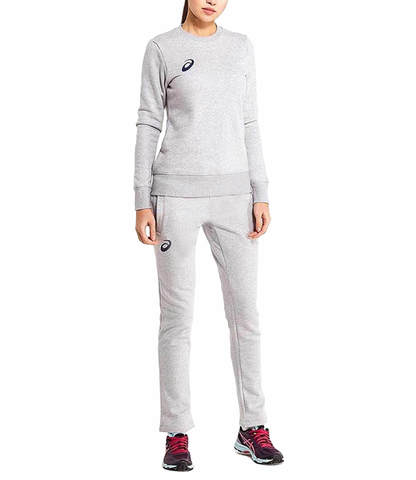 Asics Knit Suit женский спортивный костюм серый