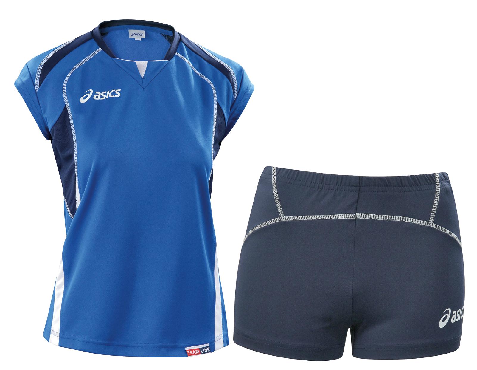 Asics Set Olympic Lady форма волейбольная женская blue - 3