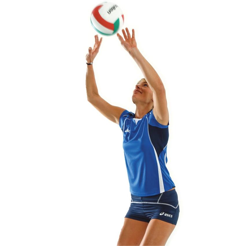 Asics Set Olympic Lady форма волейбольная женская blue - 5
