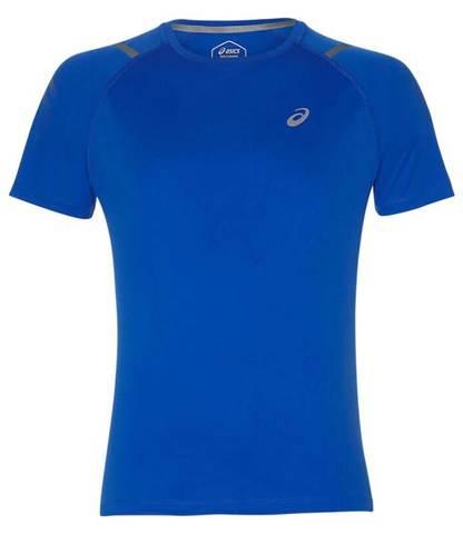 Asics Icon Ss Top футболка для бега мужская синяя