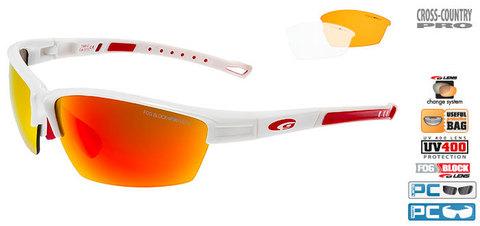 Goggle Colot спортивные солнцезащитные очки white