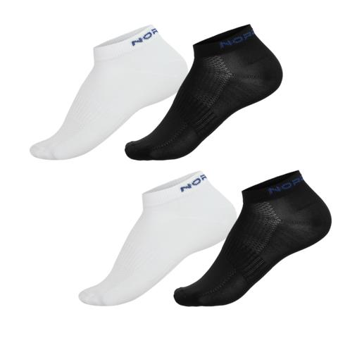 Nordski Run комплект спортивных носков black-white