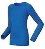 Odlo Warm детская термобелье рубашка ультрамарин - 1