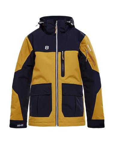 Горнолыжная куртка детская 8848 Altitude Jayden mustard