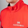 Nordski Sport куртка для бега мужская red-black - 3