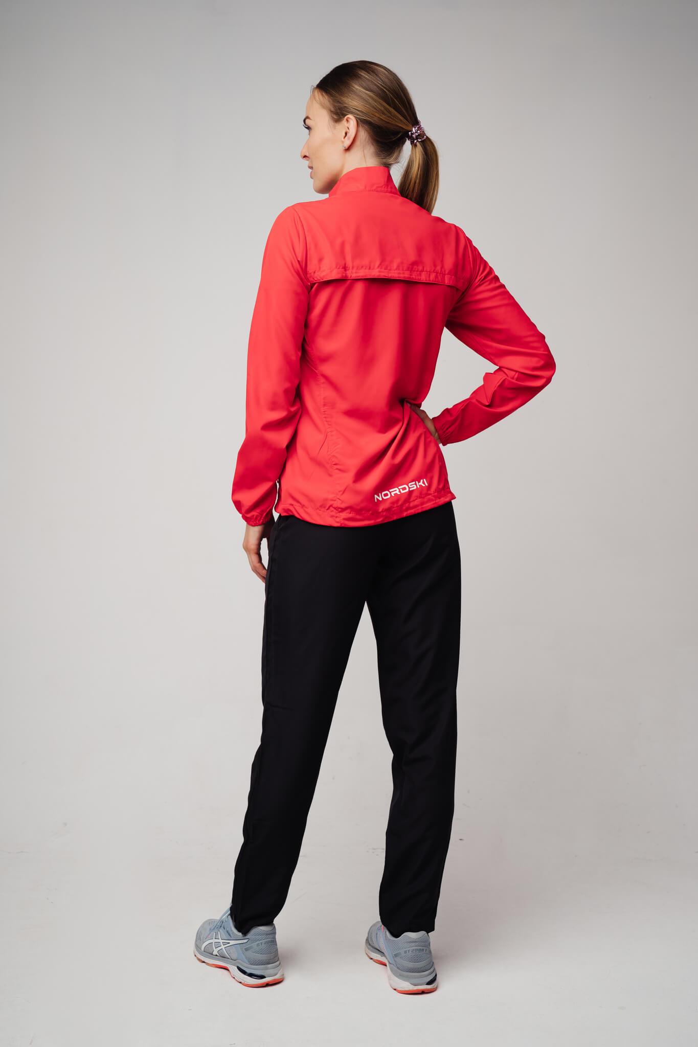Nordski Motion куртка ветровка женская Red - 6