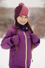 Nordski Jr Motion прогулочная лыжная куртка детская purple