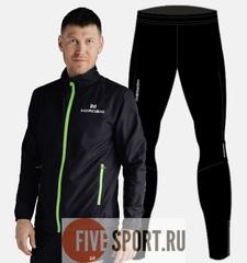 Nordski Motion Premium беговой костюм мужской Black