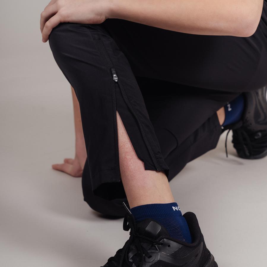 Nordski Jr Motion костюм беговой детский черный-лайм - 10