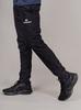 Nordski Jr Motion костюм беговой детский черный-лайм - 8